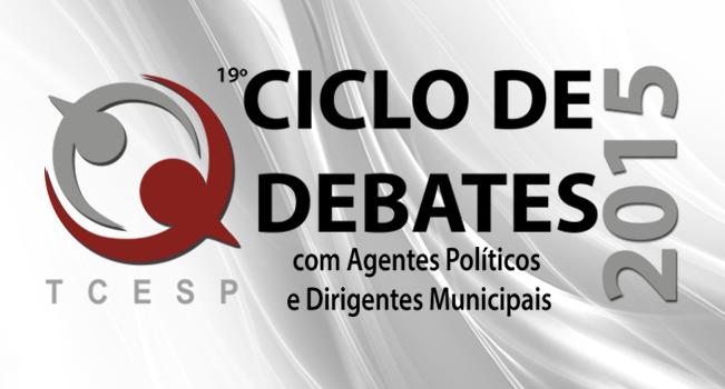 Ciclo de Debates do TCE terá 21 encontros com jurisdicionados em 2015