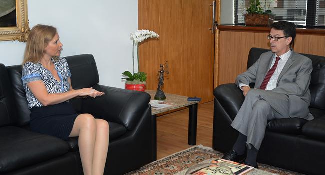 Tribunal de Contas recebe visita do Secretário de Estado da Cultura